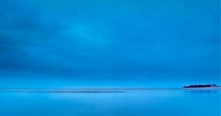 Blue hour Wells beach