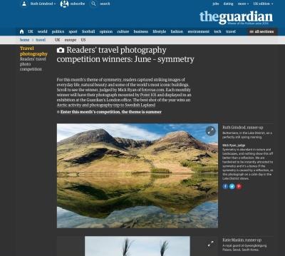 screenshot of Guardian webpage