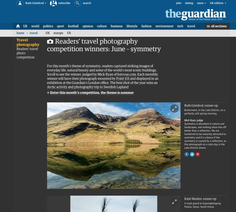 screenshot of Guardian webpage