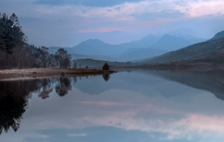 After sunset at Capel Curig