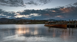 Derwent steamer's sunset rest