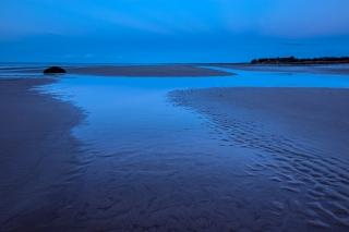 Nairn winter tidal sunset