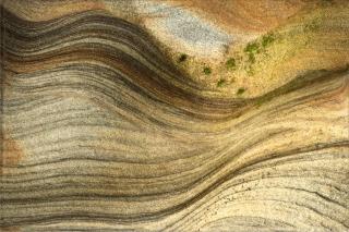 Spittal beach rock pattern