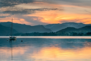 Pooley Bridge sunset