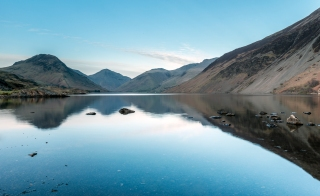 Before sunset at Wast Water
