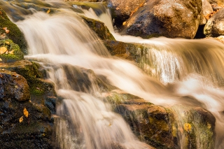 Crystal cascades at Pinkham Notch New Hampshire
