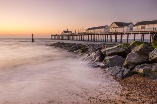 Summer dawn at Southwold