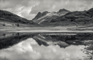 Summer at Blea tarn