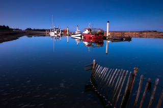 Wells next the sea boats at rest