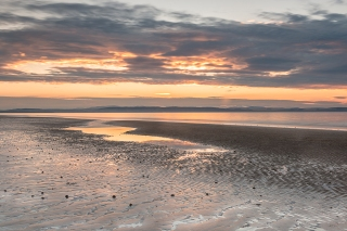 August sunset Nairn