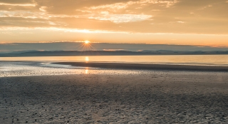 Honey sunset at Nairn