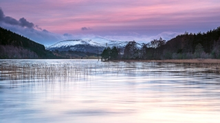 Nearly New years Dusk at Loch Pityoulish