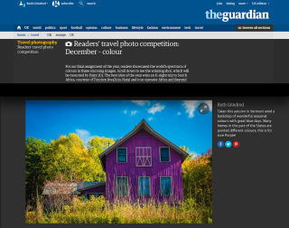 Guardian travel competition - colour