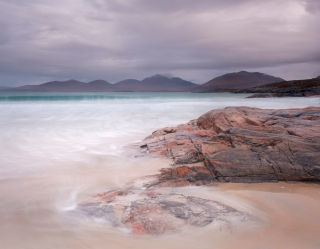 Ebb and flow on Luskentyre