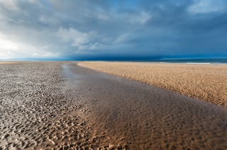 The curve at Findhorn