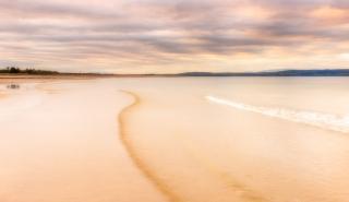 Waves at Dusk - Nairn