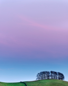 After sunset at Hawes