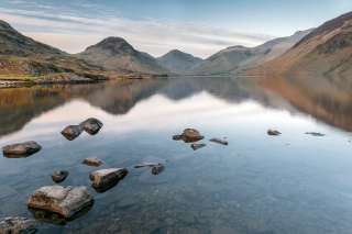Just before sunset Wastwater