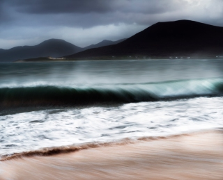 Storm waves - Harris