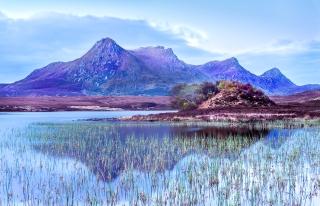 Summer at Lochan Hakel Scotland