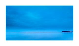 Dusky blue at Wells beach Norfolk