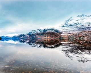 Dusky Loch Maree Scotland