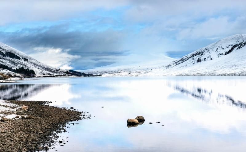 Tones of Loch A Chroisg, Achnasheen Scotland