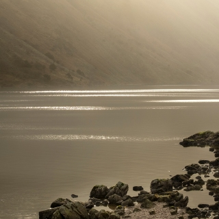 Shimmering at wast water