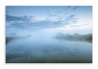 Before sunrise on the river chet