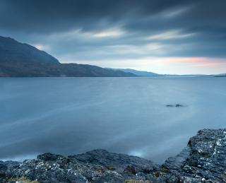 Dusk at Loch Assynt