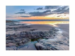 Bamburgh sunrise - August