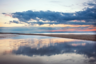 Cloud play at Nairn