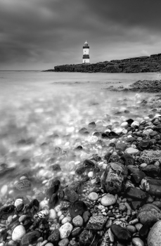 Cloudy day at Penmon