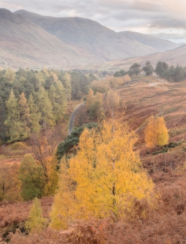Glen Lyon- the end of the day