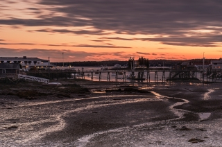 Sunset Boothbay Harbour