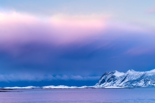 Winter sunset - Senja
