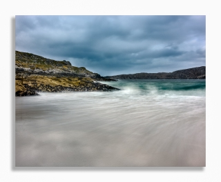 Weather change at Achmelvich