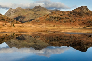 Blea Tarn reflects