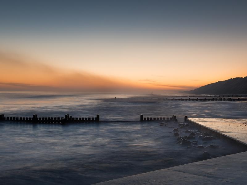 Dawn breaks Mundesley