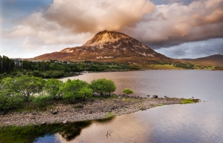 Mount Errigal scene