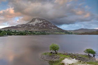 Mount Errigal sunset