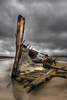 Wrecked at Bunbeg