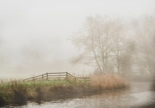 April mists - Pyes Mill