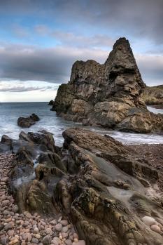 Portknockie beach