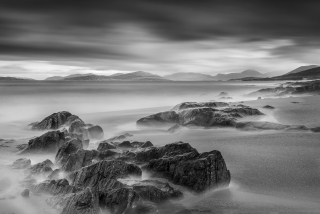 Shades of grey in Harris