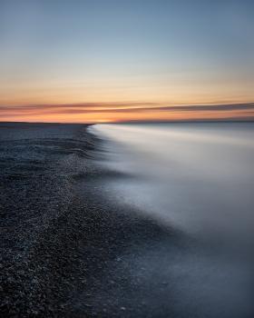 Salthouses sunset