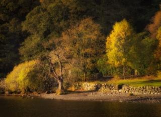 Ullswater in autumn light
