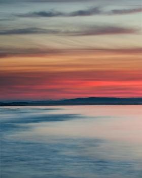 Nairn summer sunset