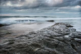 Bamburgh waves