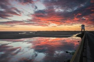 Lindisfarne August dawn